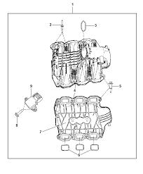 intake manifold for 2011 jeep liberty mopar parts giant 2011 jeep liberty intake manifold diagram i2257686
