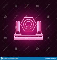 Spotlight Graphic Design Shine Icon Elements Of Spotlight In Neon Style Icons