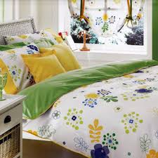 custom queen size lime green yellow