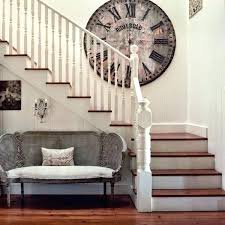 stairway wall decorating staircase wall decoration stairway wall decor staircase wall decorating ideas with giant clock stairway wall decorating