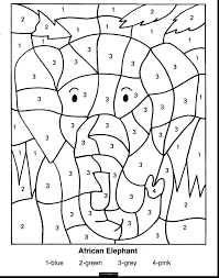 Multiplication Coloring Worksheets Fun Math Pages Addition And