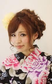 浴衣 髪型 ロング Kamigata