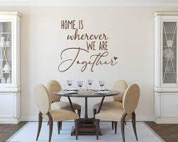 together family quotes wall art stickers