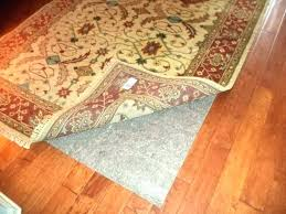 carpet pads rug on pad glorious inspiration for area rugs hardwood over rug on carpet pad padding for area