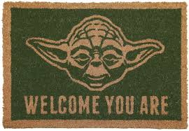 Welcome You Are Star Wars Fußmatte Emp