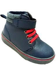 Garanimals Toddler Boys Blue Red Work Hiking Boots Shoes