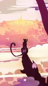 Download wallpaper 938x1668 cat, art ...