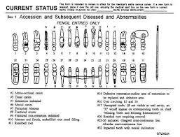 Periodontal Charting Symbols Charting Symbols Box 1 Regarding Dental Charting