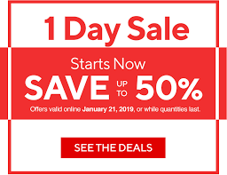 1 day starts now save up to 50 see the deals