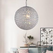 modern round ball iron chandelier diameter e14 led lamps simple crystal chandeliers led re chandelier lighting lamp pendant glass pendant lamp shades