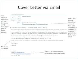 Email Cover Letter Job Cover Letter For Job Application Email Cover
