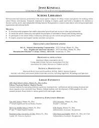 Librarian Sampleme Cover Letter Library Job Elementary School