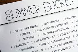 bucket list archives diy home decor and crafts bucket list summer fun for kids