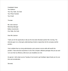 Follow Up Letter After Interview Letter Template