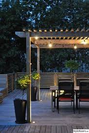 pergola lighting ideas. 99 deck decorating ideas pergola lights and cement planters 62 proyectos que intentar pinterest lighting