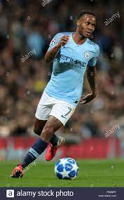 RAHEEM STERLING Manchester City FC Manchester City V LYON, CHAMPIONS LEAGUE  GRUPPE F Etihad Stadium, Manchester,