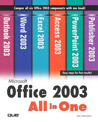 microsoft office 2003 all in one informit microsoft office 2003 all in one