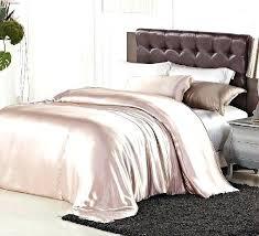 pink satin comforter sets luxury light pink satin silk elegant bedding comforter duvet cover quilt twin