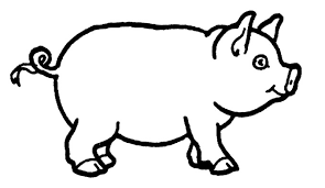 Small Picture Cute Pigs Coloring Pages GetColoringPagescom