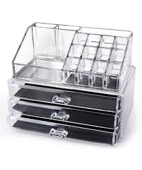 home it clear acrylic makeup organizer cosmetic acrylic storage drawers for makeup uk acrylic storage drawers muji