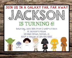 Star Wars Birthday Invitations Printable Printable Star Wars Birthday Invitations Hunecompany Com
