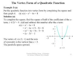 chapter 3 quadratic functions section 3