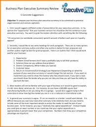 Startup Business Plan Sample Startup Executive Summarye Template For Or Investment Memo