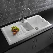 White Kitchen Sink Faucets White Kitchen Sink With Stylish Kitchen Sinks Amp Kitchen Faucets