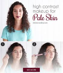 makeup for pale skin is much more fun than you thought