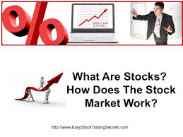 What Are Stocks How Does The Stock Market Work