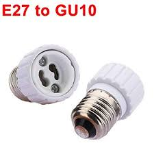E27 to GU10 Light Lamp Bulb Adapter Converter. - Amazon.com
