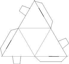 Free Printable Kite Template Kite Template With Lines Free Printable Tetrahedron Images