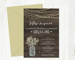 invitation t 30 50th wedding anniversary invitation designs templates psd