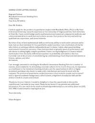 cover letter accounting and finance 100 cover letter examples best accounting istant cover letter examples livecareer