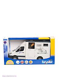 <b>MB Sprinter</b> фургон с лошадью <b>Bruder</b> 390671 в интернет ...
