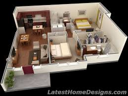 wellsuited 1000 sq ft home design square feet 3d 2bhk house plans