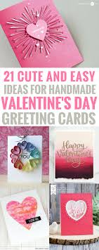 valentinesday papercrafts greetingcard diy valentines day cards easy handmade cards for him