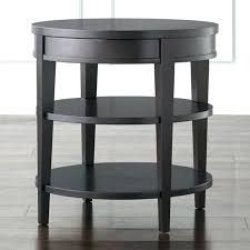 white end table target round end tables target full size of table end table round end