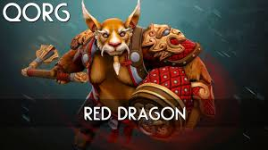 dota 2 items brewmaster red dragon youtube