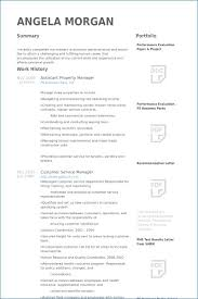 Assistant Property Manager Resume Objective Artemushka Com Example