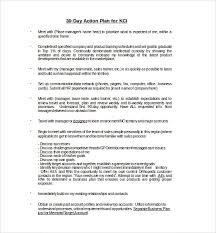30 60 90 Day Action Plan 12 Documents In Pdf Word