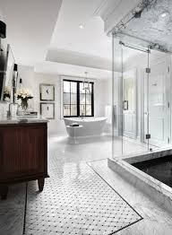 transitional bathroom ideas. All White Transitional Bathroom - 10 Stunning Design Ideas To Inspire You ➤To