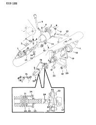 Column steering tilt upper lower for 1987 dodge w150 rh moparpartsgiant 1969 dodge steering column diagram dodge power steering pump diagram