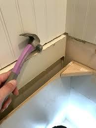 diy bathroom countertops wood bathroom how we replaced our ugly s in one weekend diy wood bathroom countertops