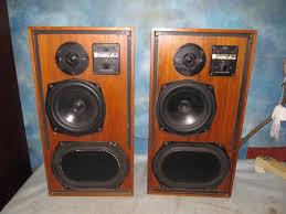 kef speakers. vintage kef 104ab reference series speakers e-86