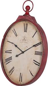 Other Gallery of Red Wall Clock Large