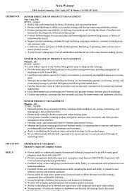 Senior Product Management Resume Samples Velvet Jobs