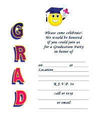 Graduation Invitation Template Fascinating Blank Graduation Invitation Templates Meichu44me