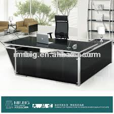 glass top office desk. Magnificent Glass Office Tables And Top Table Suppliers Desk U