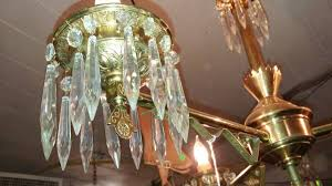 antique brass oil lamp chandelier light electric brass crystal 00f0f hbpjwociqfl 600x450